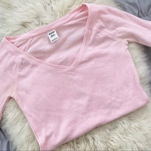Long Sleeve Light Pink Thermal